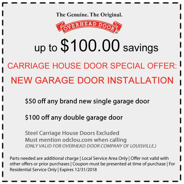 Louisville Overhead Door Coupon  sc 1 st  Home | Overhead Door of Louisville & Home | Overhead Door of Louisville